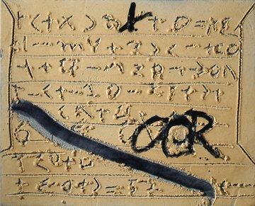 <strong>Antoni Tàpies</strong>, <em>Signes sobre matèria / Signs on matter</em>, 2006