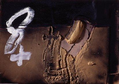 <strong>Antoni Tàpies</strong>, <em>8 +</em>, 2007
