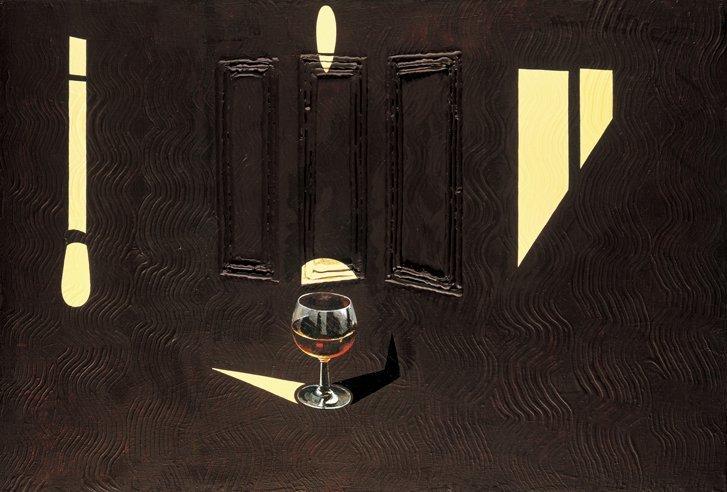 <strong>Patrick Caulfield</strong>, <em>Glass of Whisky</em>, 1987