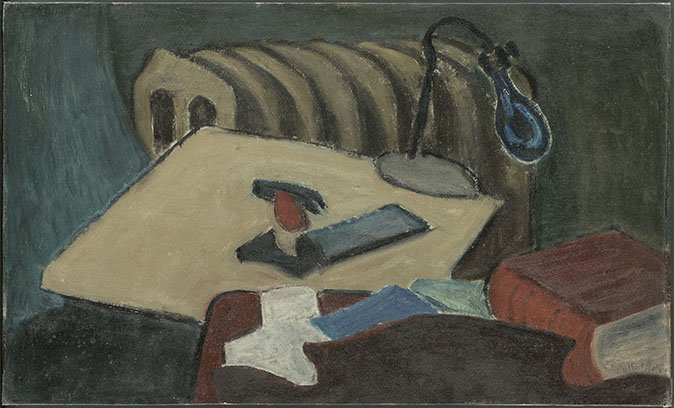 <strong>Milton Avery</strong>, <em>Objects</em>, c.1929