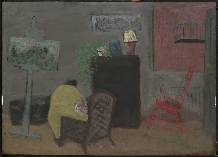 <strong>Milton Avery</strong>, <em>11th Street Studio</em>, c.1930s