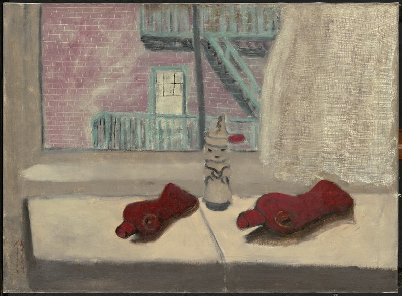<strong>Milton Avery</strong>, <em>Still Life with Bottles</em>, 1942