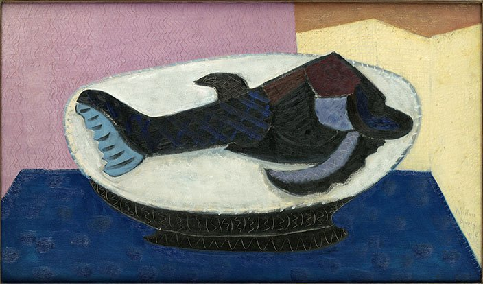 <strong>Milton Avery</strong>, <em>Primeval Fish</em>, 1948