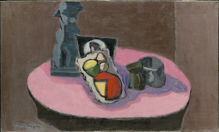 <strong>Milton Avery</strong>, <em>Pink Table</em>, 1948-55