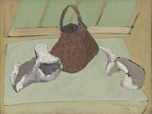 <strong>Milton Avery</strong>, <em>Still Life with Fossils</em>, 1949
