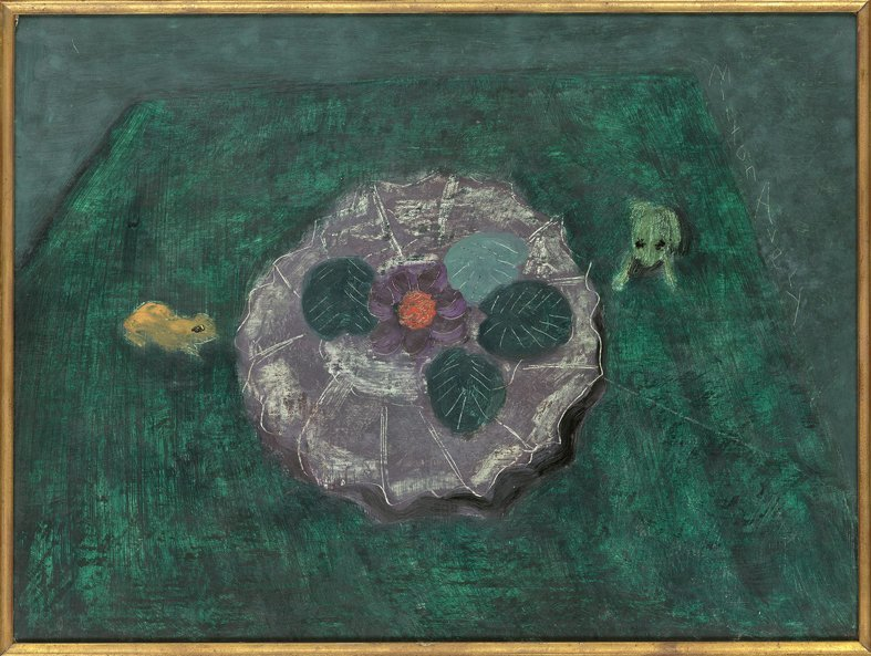 <strong>Milton Avery</strong>, <em>Still Life with Frogs</em>, 1949