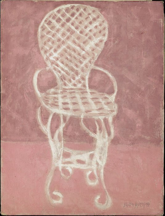 <strong>Milton Avery</strong>, <em>The Iron Chair</em>, 1950