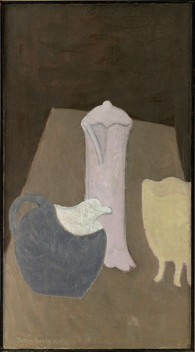 <strong>Milton Avery</strong>, <em>Three Vases</em>, 1955