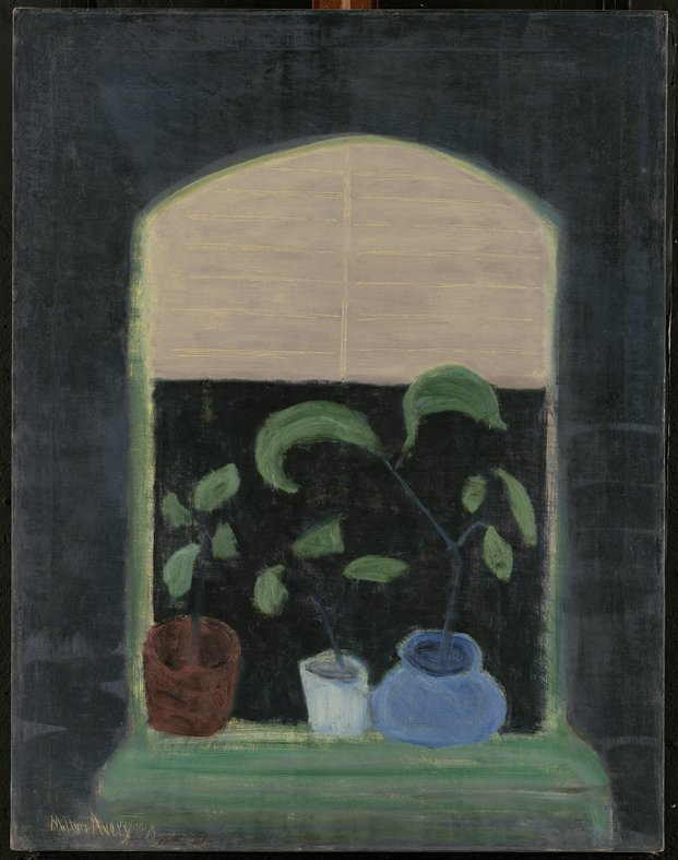 <strong>Milton Avery</strong>, <em>Window Plants</em>, 1955