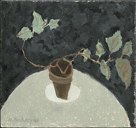 <strong>Milton Avery</strong>, <em>Plant</em>, 1956