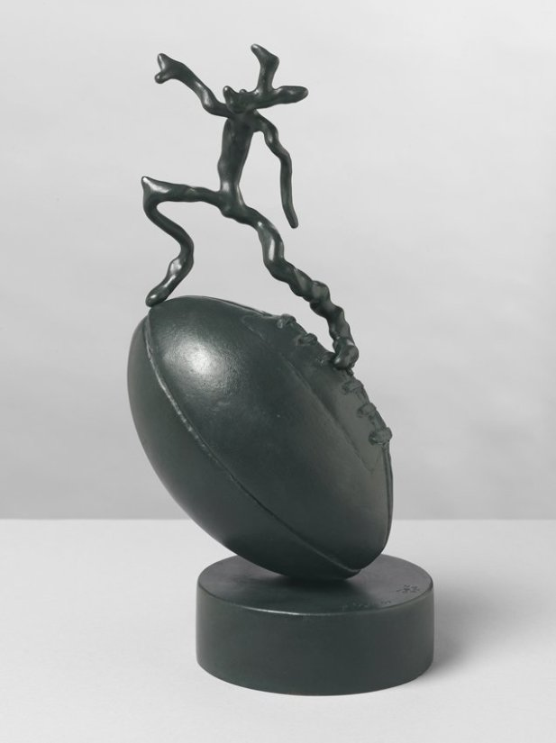 Rugby Sculpture