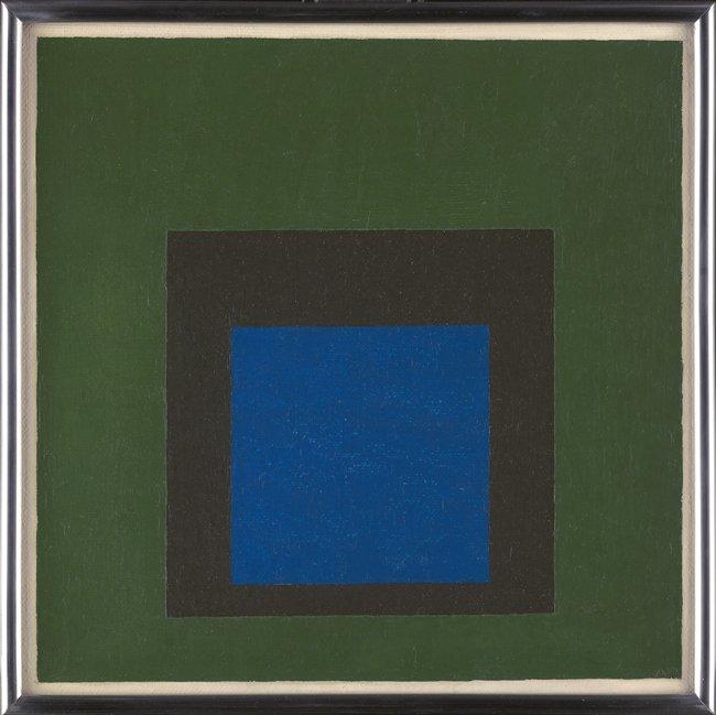 <strong>Josef Albers</strong>, <em>Study for Homage to the Square: 'Calm Hour'</em>, 1954
