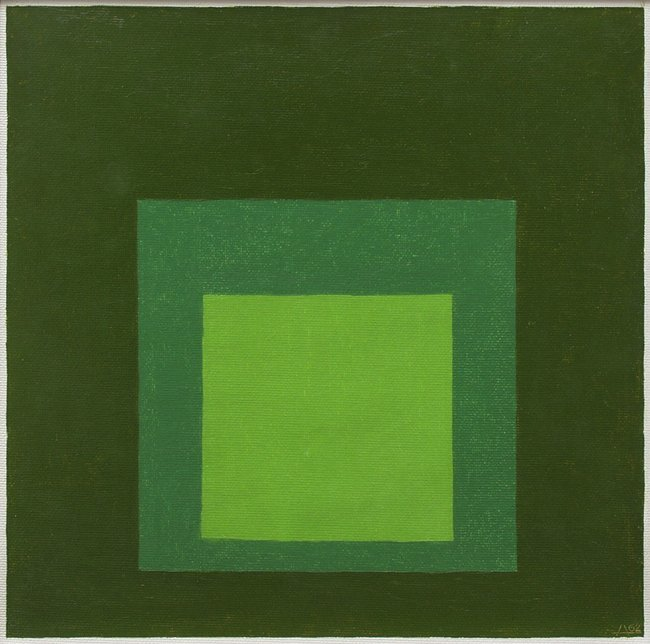 <strong>Josef Albers</strong>, <em>Study for Homage to the Square: 'Toscana'</em>, 1962