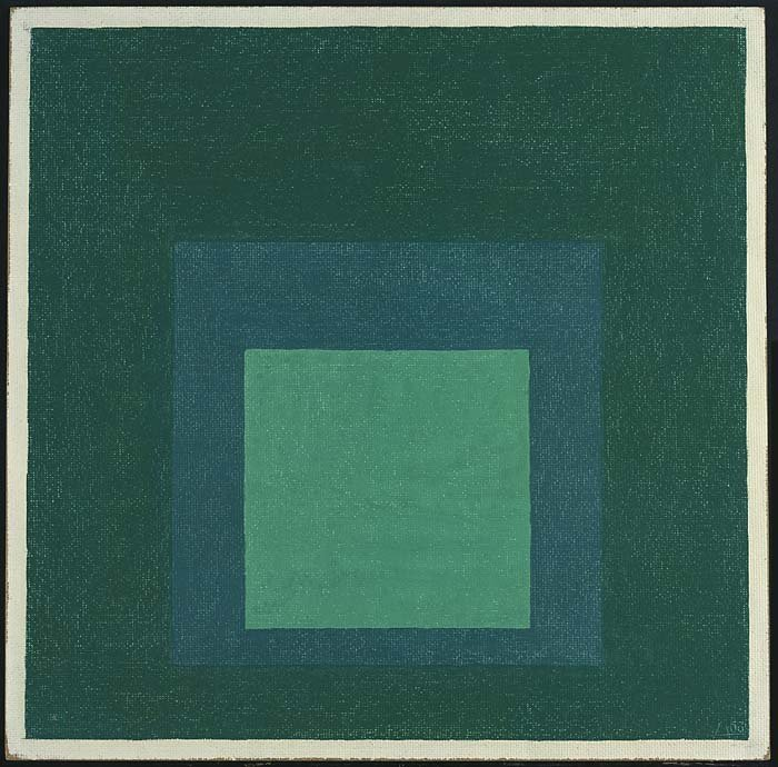 <strong>Josef Albers</strong>, <em>Homage to the Square</em>, 1963