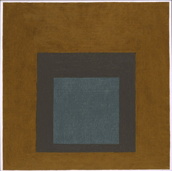 <strong>Josef Albers</strong>, <em>Homage to the Square</em>, 1964