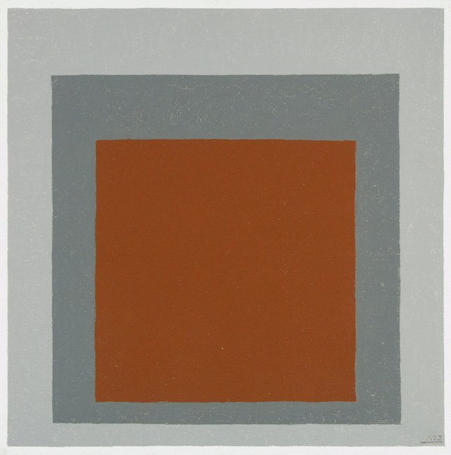 <strong>Josef Albers</strong>, <em>Study for Homage to the Square</em>, 1973