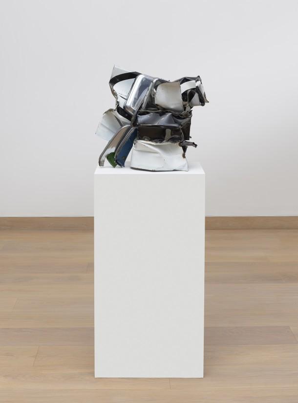 """<span class=""""artist""""><strong>John Chamberlain </strong></span>, <span class=""""title""""><em>Abby Cassidy </em>, 2006</span>"""