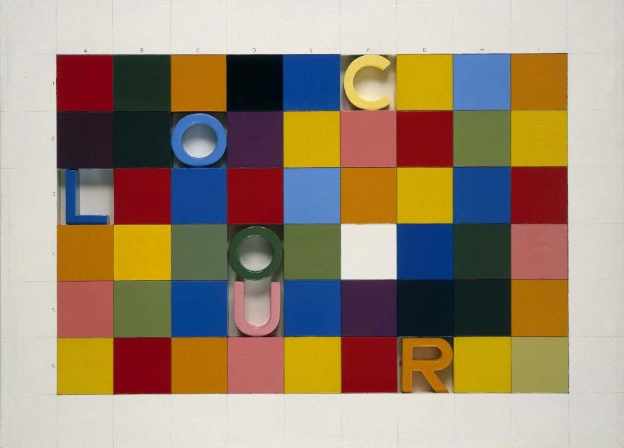 <strong>Joe Tilson</strong>, <em>G.E.O.M.E.T.R.Y. Puzzle, 1</em>, 1967