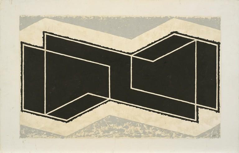 <strong>Josef Albers</strong>, <em>Untitled (Kinetic) (JAAF 1976.1.1045)</em>, 1945