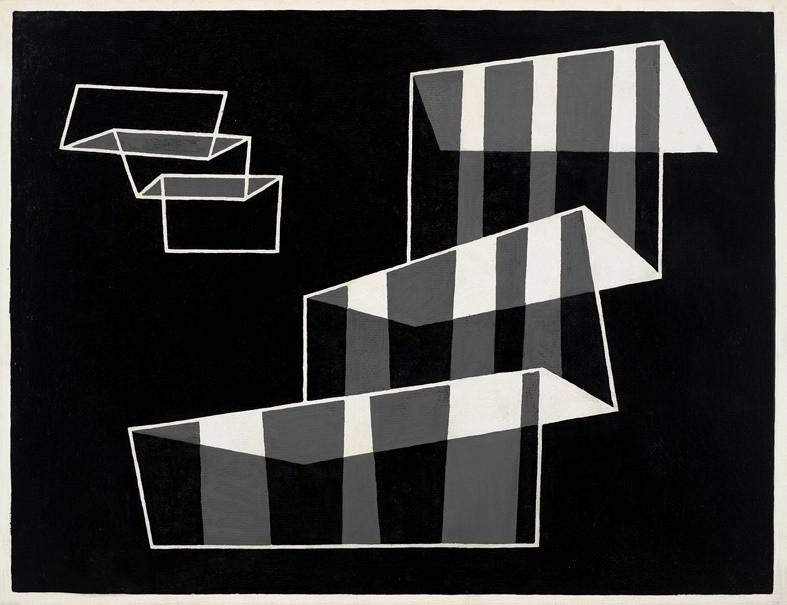 <strong>Josef Albers</strong>, <em>Steps</em>, 1931-1956