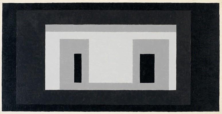 <strong>Josef Albers</strong>, <em>Variant / Adobe (JAAF 1976.1.1155)</em>, 1948-55