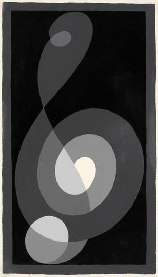 <p><strong>Josef Albers</strong>, <em>Treble Clef G i (JAAF 1976.2.218)</em>, 1932-35</p>