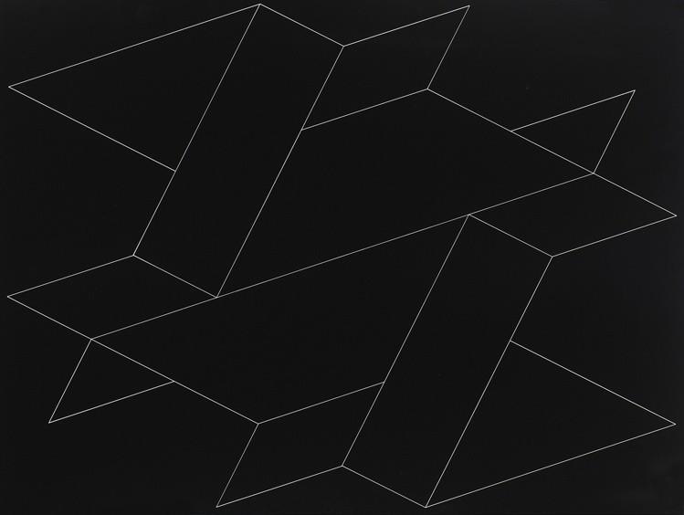 <strong>Josef Albers</strong>, <em>Structural Constellation N-37 (JAAF 1976.8.1703)</em>, 1964