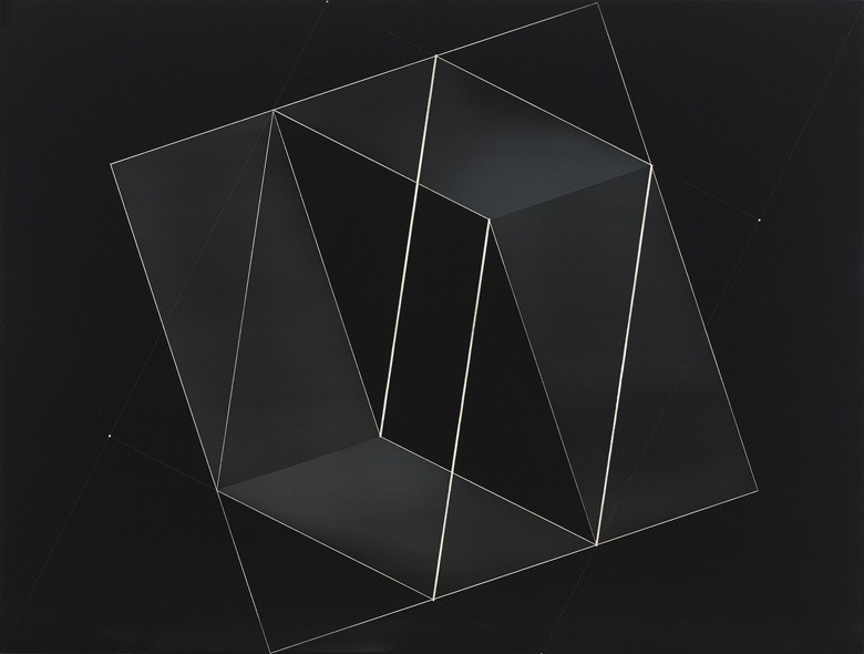 <strong>Josef Albers</strong>, <em>Structural Constellation [From Transformation of a Scheme series] (JAAF 1976.8.1757)</em>, c.1950