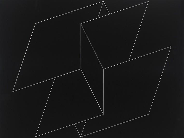 <strong>Josef Albers</strong>, <em>Structural Constellation F.M.E. 4 (JAAF 1976.8.1895)</em>, 1962