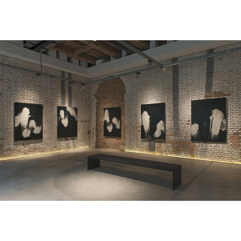 Installation view of Pinakothek der Moderne Collection