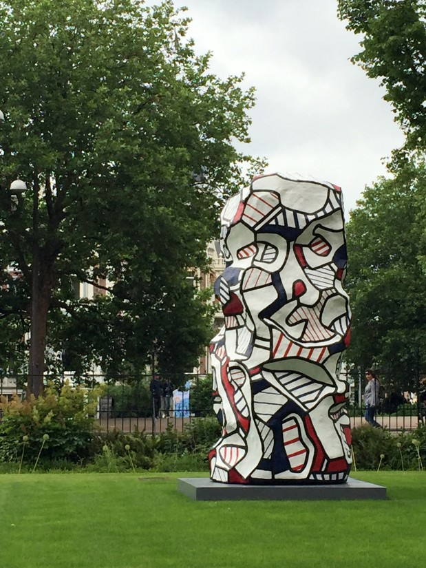 Dubuffet in the Rijksmuseum Gardens