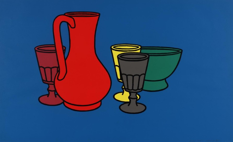Patrick Caulfield, 'Coloured Still Life', 1967