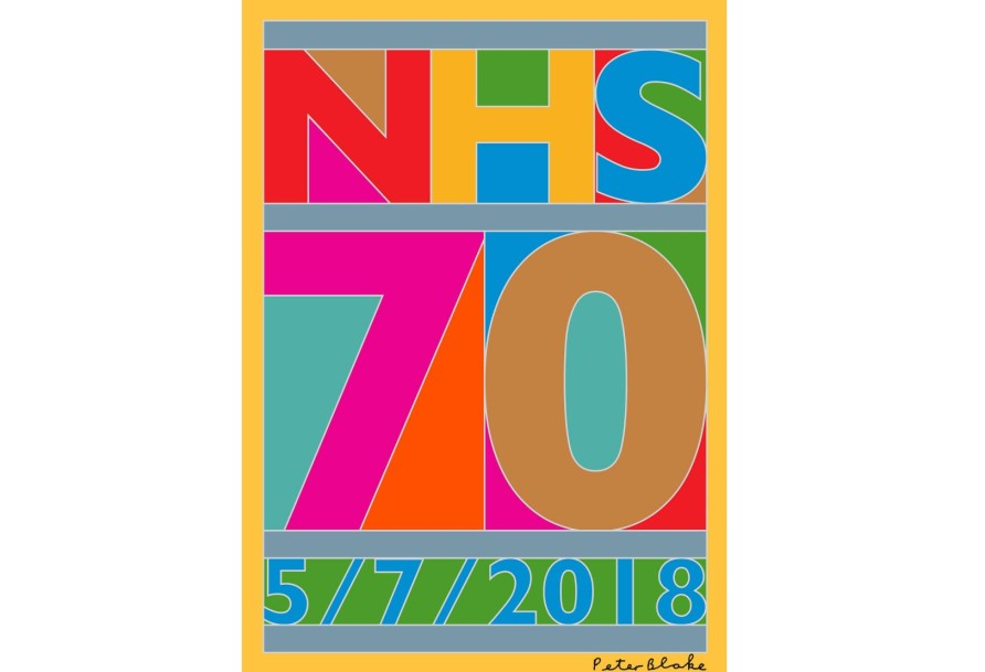 Peter Blake among leading artists marking 70th anniversary of NHS