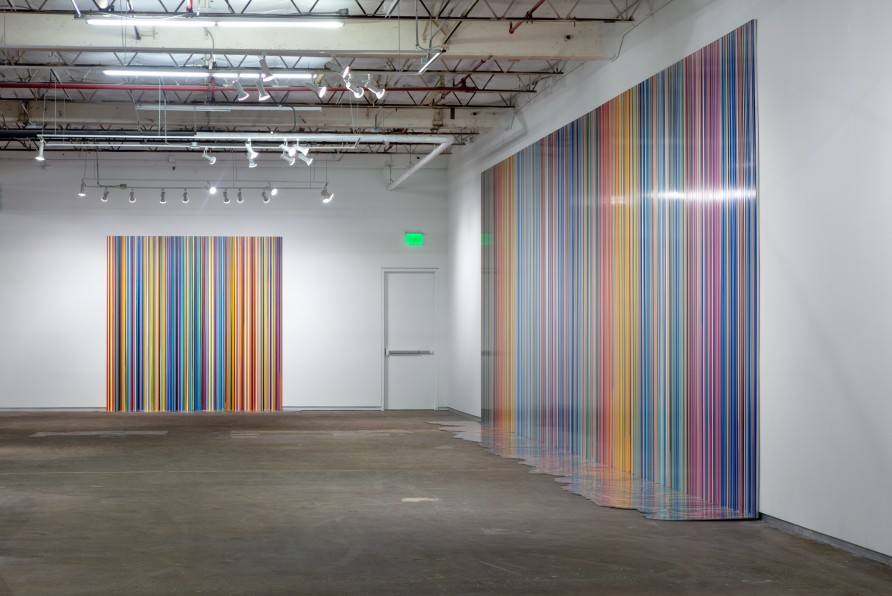 Ian Davenport at Dallas Contemporary