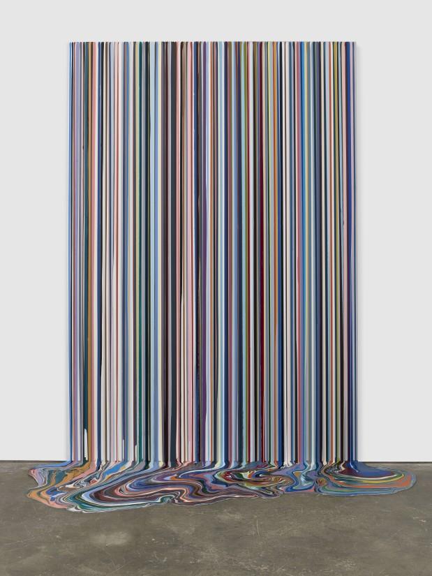 Ian Davenport, 'Olympia', 2018
