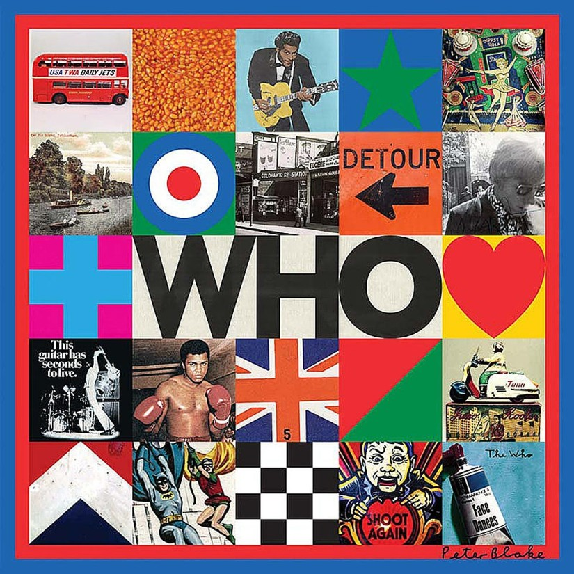 Peter Blake designs artwork for new album by The Who