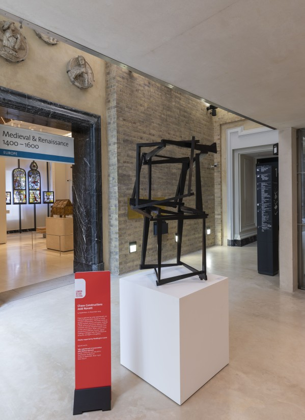 Victoria & Albert Museum host American sculptor Jedd Novatt