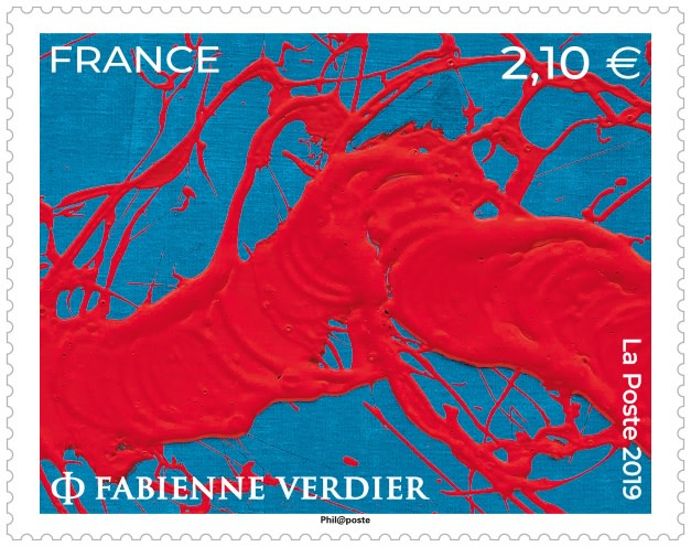 La Poste issue new stamp designed by Verdier