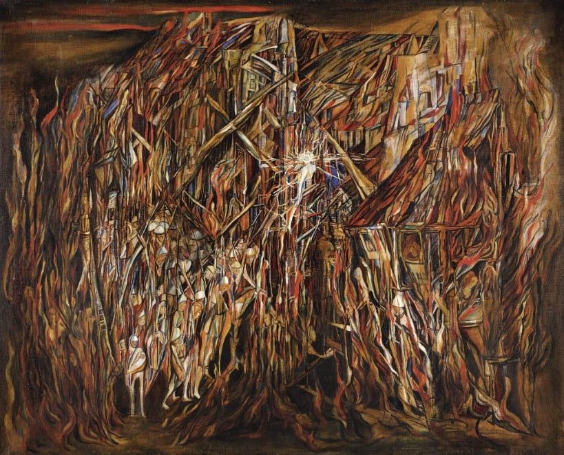 Maria Helena Vieira da Silva work goes up for auction at Sotheby's