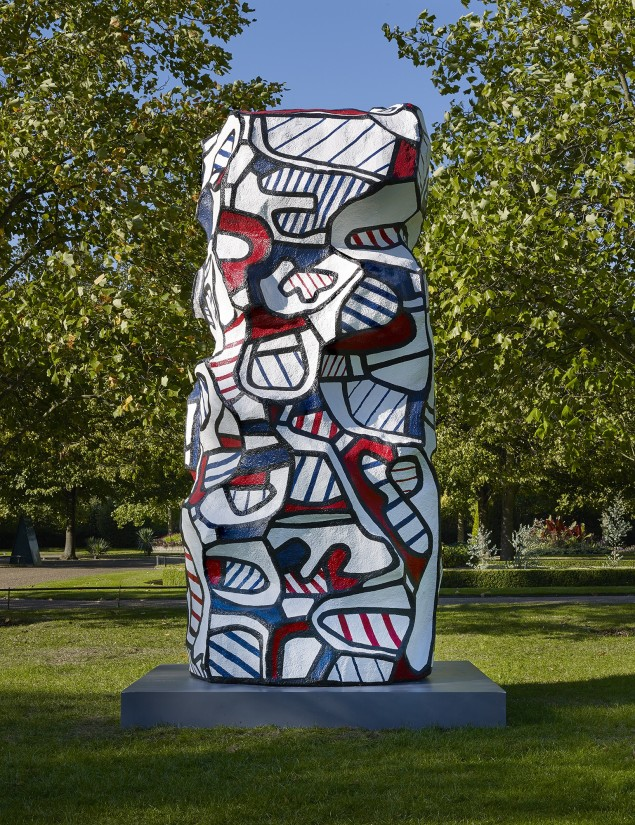 Monumental work by Jean Dubuffet to be installed at Smithson Plaza