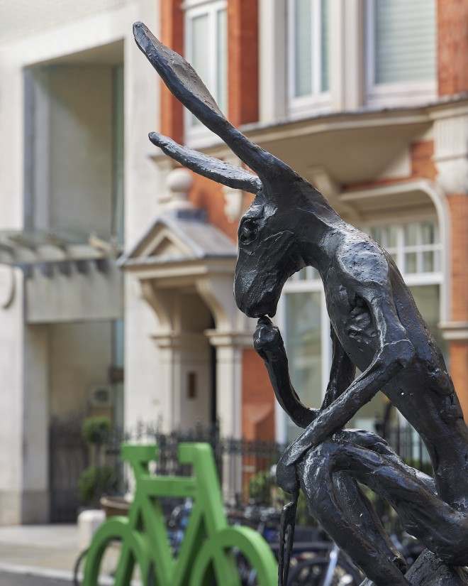 Mayfair Sculpture Trail opens today