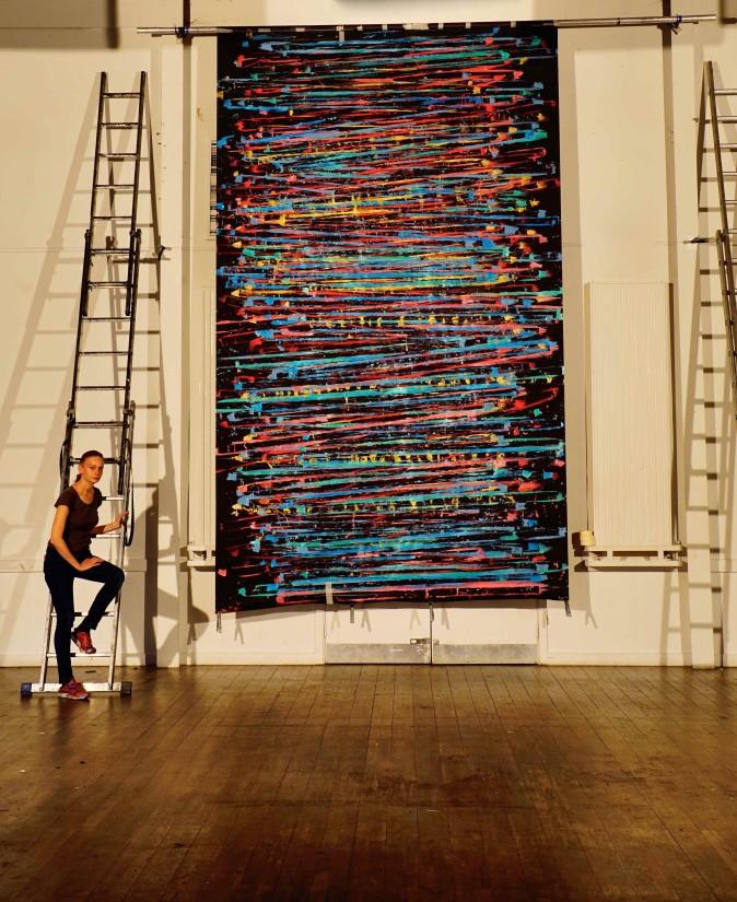 Alice Anderson | Prix Marcel Duchamp 2020 The Nominees