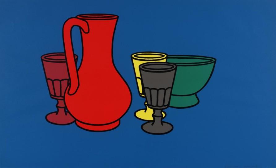 Patrick Caulfield, 'Coloured Still Life', 1967