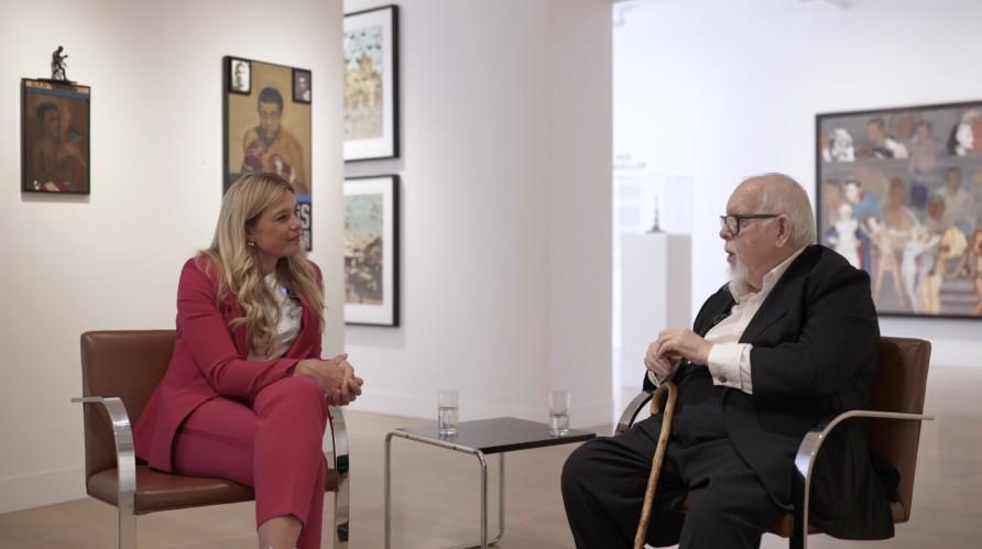 Peter Blake in conversation with Kate Bryan