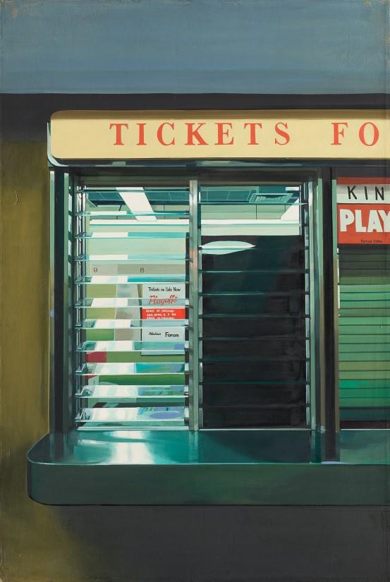 Richard Estes, Ticket Window, 1969