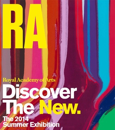 Ian Davenport on the RA Summer Exhibition poster