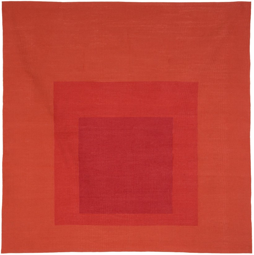Homage to the Square tapestry, Josef Albers © Christopher Farr