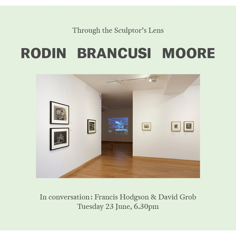 In Conversation: Francis Hodgson & David Grob