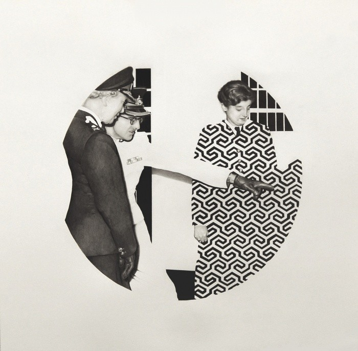 Kristian Evju, Puncher, 2015, 50 x 50, pencil on paper