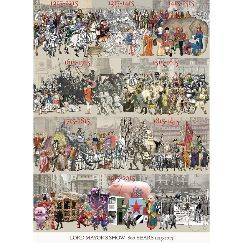 Peter Blake celebrates 800th anniversary of The Lord Mayor's Show